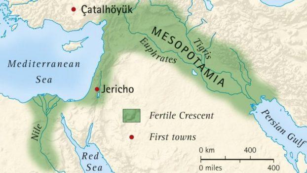 mesopotamia rios