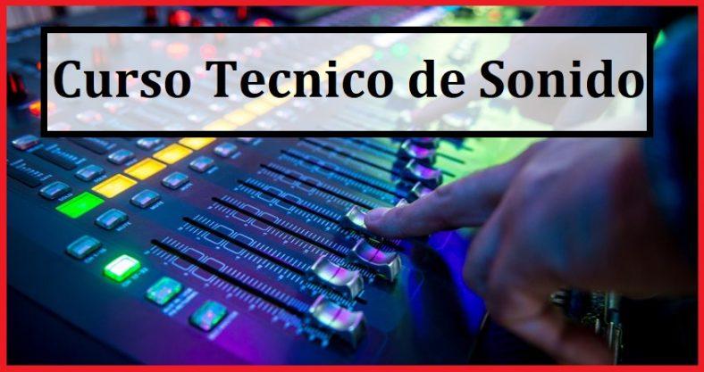 curso de tecnico de sonido